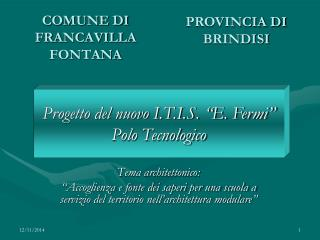 COMUNE DI FRANCAVILLA FONTANA