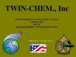 TWIN-CHEM., Inc