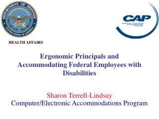 Sharon Terrell-Lindsay Computer/Electronic Accommodations Program