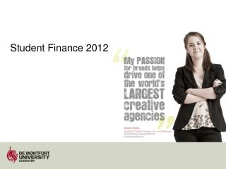 Student Finance 2012