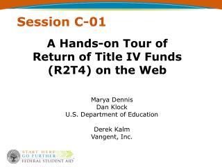 Session C-01