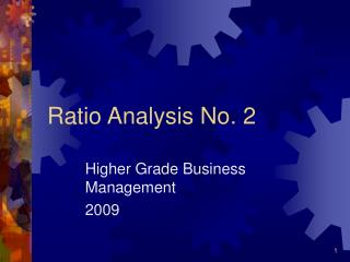 Ratio Analysis No. 2