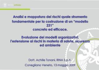"""Analisi e mappatura dei rischi quale strumento fondamentale per la costruzione di un """"modello 231"""""""