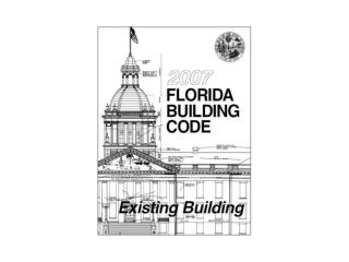 FBC Existing Building, SECTION 101 GENERAL
