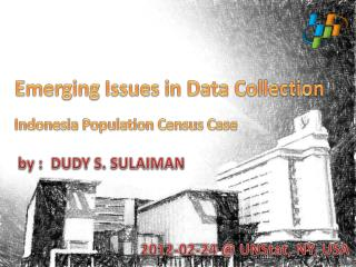 Emerging Issues in Data Collection