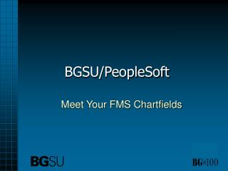 BGSU/PeopleSoft