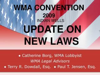 WMA CONVENTION  2009