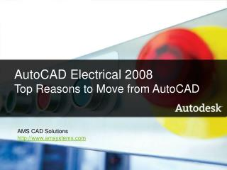 AutoCAD Electrical 2008 What's New Name Company