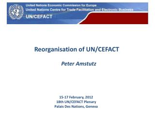 Reorganisation of UN/CEFACT