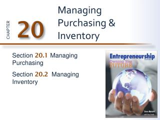 Managing Purchasing & Inventory