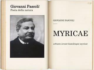 Giovanni Pascoli: Poeta della natura