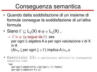 Conseguenza semantica