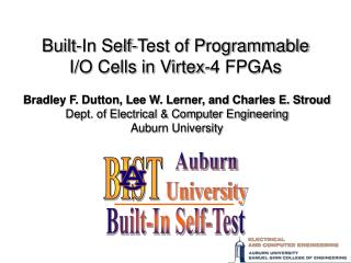 Built-In Self-Test of Programmable I/O Cells in Virtex-4 FPGAs