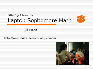 Bill's Big Adventure Laptop Sophomore Math