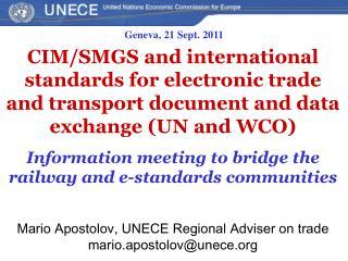 Geneva,  2 1 Sept . 2011