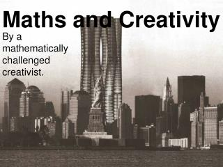 Maths and Creativity