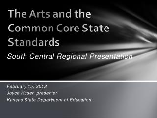 The Arts and the Common Core State Standards