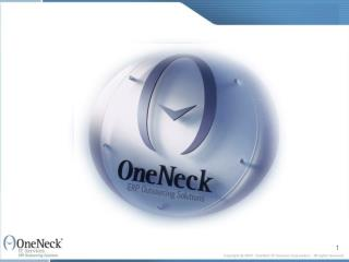 IT Outsourcing: Business Continuity by Design by OneNeck IT