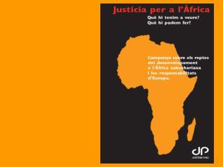 Justícia per a l'Àfrica!!