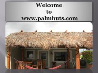 Tiki Huts and Tiki Bars
