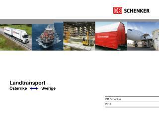 Landtransport ÖsterrikeSverige