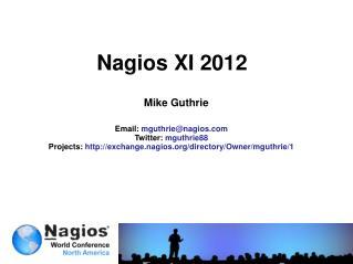 Nagios XI 2012
