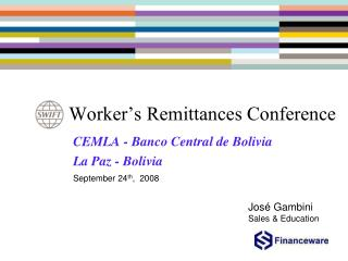 Worker's Remittances Conference