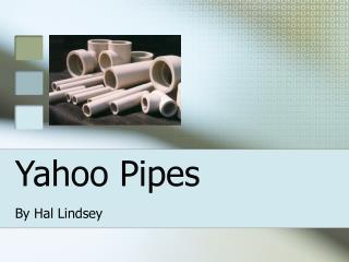 Yahoo Pipes