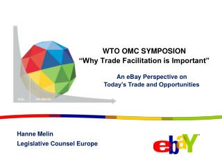 "WTO OMC SYMPOSION  ""Why Trade Facilitation is Important"""