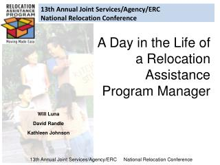 13th Annual Joint Services/Agency/ERC National Relocation Conference