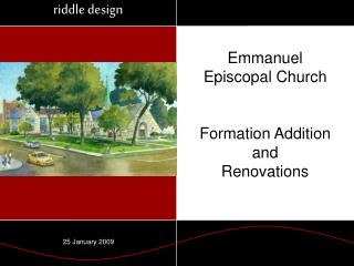 Emmanuel Episcopal Church Formation Addition and Renovations