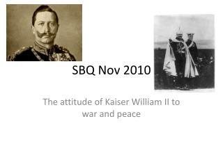 SBQ Nov 2010
