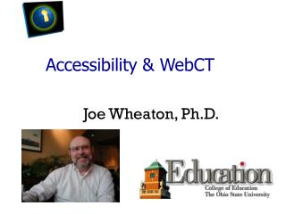 Accessibility & WebCT