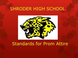 SHRODER HIGH SCHOOL