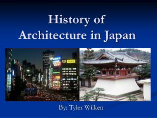 History of Architecture in Japan