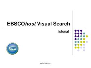 EBSCO host  Visual Search