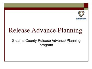 Release Advance Planning
