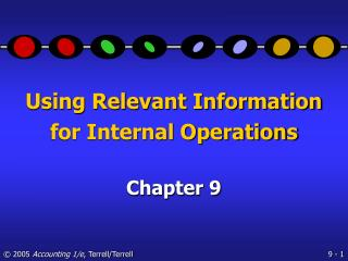 Using Relevant Information for Internal Operations