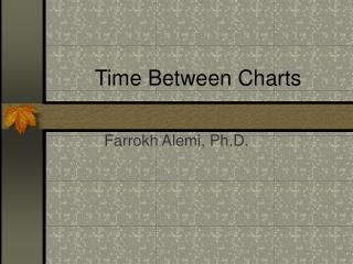 Time Between Charts