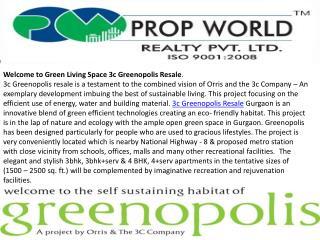 3c greenopolis resale|9811004272|3c greenopolis resale