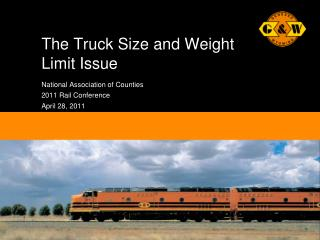 The Truck Size and Weight Limit Issue