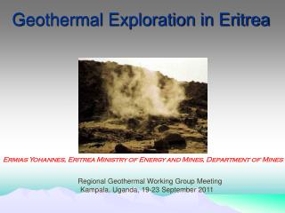 Geothermal Exploration in Eritrea
