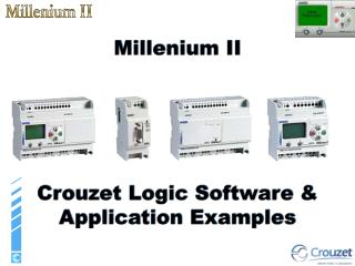 Millenium II Crouzet Logic Software & Application Examples