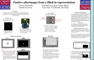 Positive afterimages from a filled-in representation