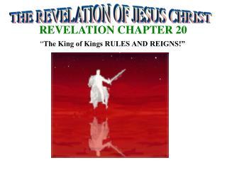 REVELATION CHAPTER 20