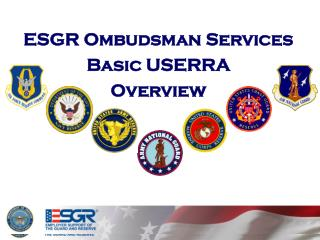 ESGR Ombudsman Services Basic USERRA Overview