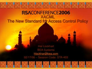 XACML  The New Standard for Access Control Policy