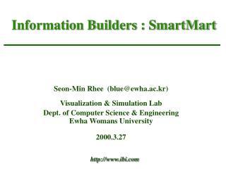 Information Builders : SmartMart