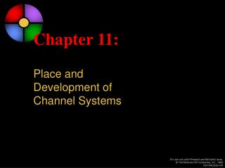 Chapter 11: Place and Development of Channel Systems
