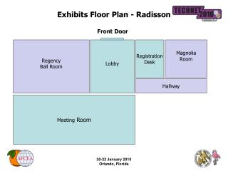 Exhibits Floor Plan - Radisson